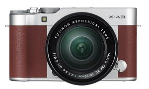 Fujifilm X-A3 Kit 16-50 brown