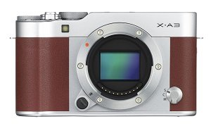 Fujifilm X-A3 body brown