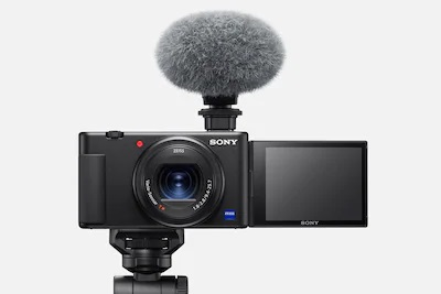 Sony ZV-1 front view