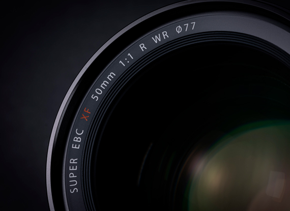 XF50mmF1.0 front