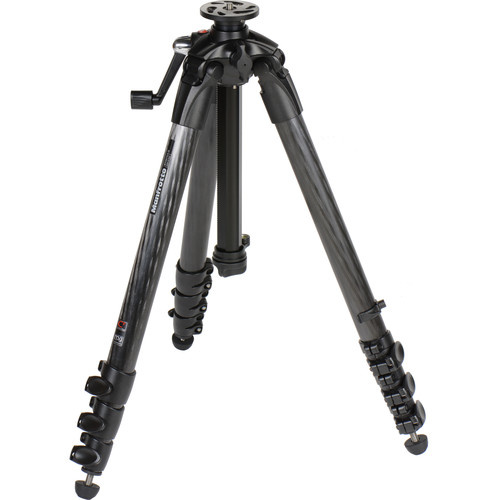 Штатив Manfrotto 057 Carbon Geared, 4 секции (MT057C4-G) - фото4