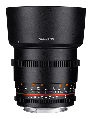 Samyang 85mm T1.5 AS IF UMC VDSLR MFT II- фото