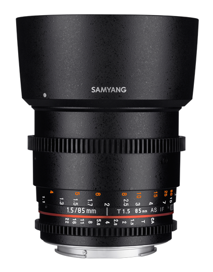 Samyang 85mm T1.5 AS IF UMC VDSLR II Canon EF- фото