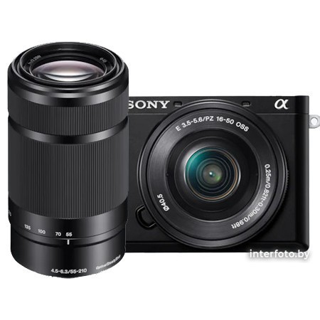 Sony A6100 Double Kit 16-50mm + 55-210mm (ILCE-6100YB)