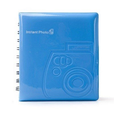 Фотоальбом Instax Mini Album Blue, 64 фото