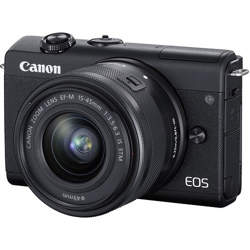 Canon EOS M200 Kit 15-45mm IS STM Black- фото4