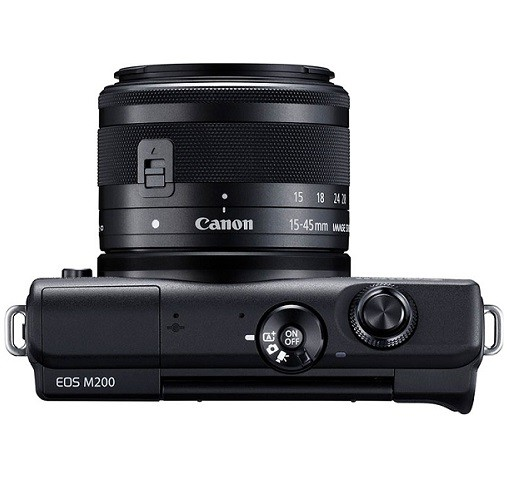 Canon EOS M200 Kit 15-45mm IS STM Black- фото5