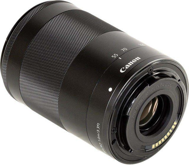 Canon EF-M 55-200mm f/4.5-6.3 IS STM Black