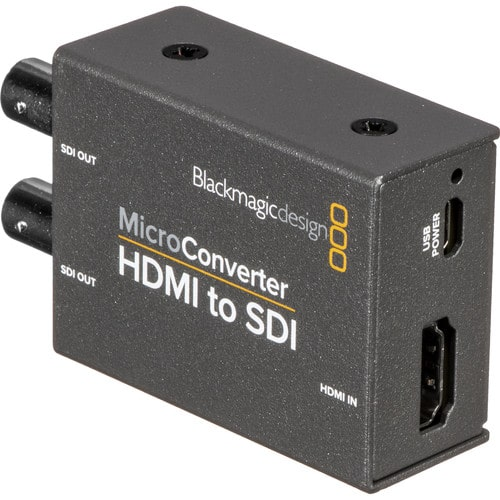 Микро конвертер Blackmagic Micro Converter - HDMI to SDI - фото5
