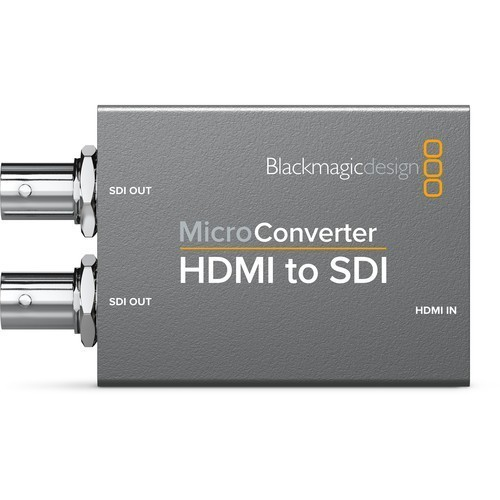 Микро конвертер Blackmagic Micro Converter HDMI to SDI wPSU- фото3