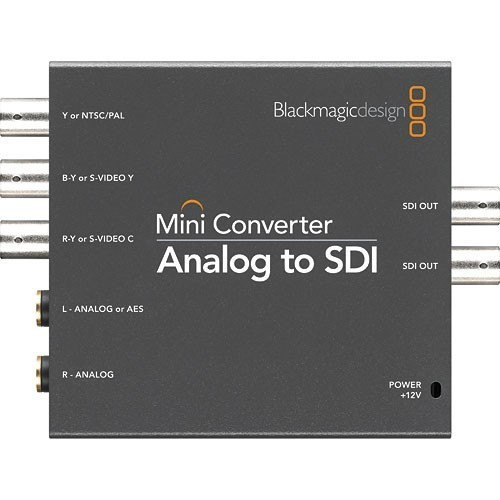 Мини конвертер Blackmagic Mini Converter Analog to SDI- фото