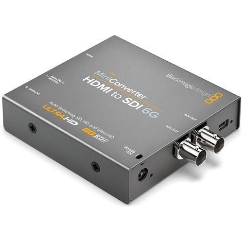 Мини конвертер Blackmagic Mini Converter - HDMI to SDI 6G- фото