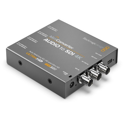 Мини конвертер Blackmagic Mini Converter Audio to SDI 4K- фото2