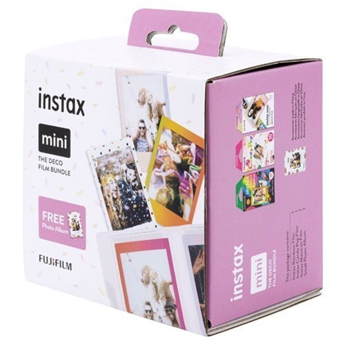 Набор пленки Fujifilm Instax Mini Deco Bundle (30 шт.)- фото3