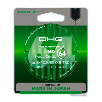 Marumi DHG ND64 72 mm