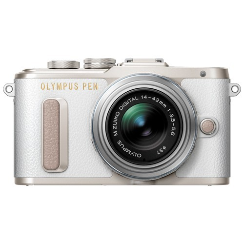 Olympus PEN E-PL8 Kit 14-42mm II R White- фото