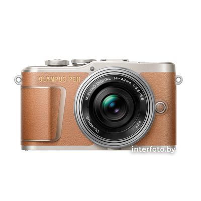 Olympus PEN E-PL9 Kit 14-42mm EZ Brown
