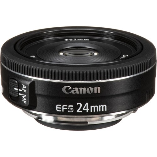 Canon EF-S 24mm f/2.8 STM- фото