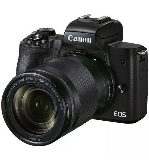 Canon EOS M50 Mark II Kit 18-150mm IS STM Black- фото2