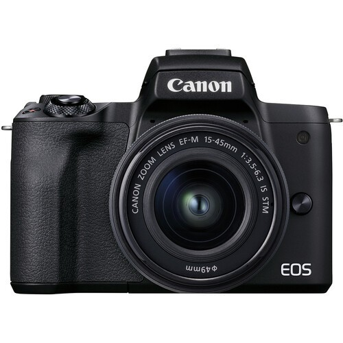 Canon EOS M50 Mark II Kit 15-45mm IS STM Black- фото