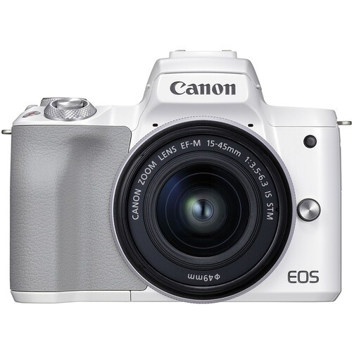 Canon EOS M50 Mark II Kit 15-45mm IS STM White- фото
