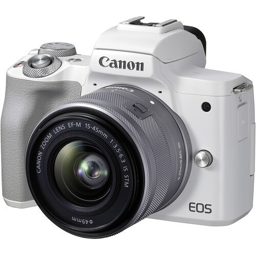 Canon EOS M50 Mark II Kit 15-45mm IS STM White- фото3