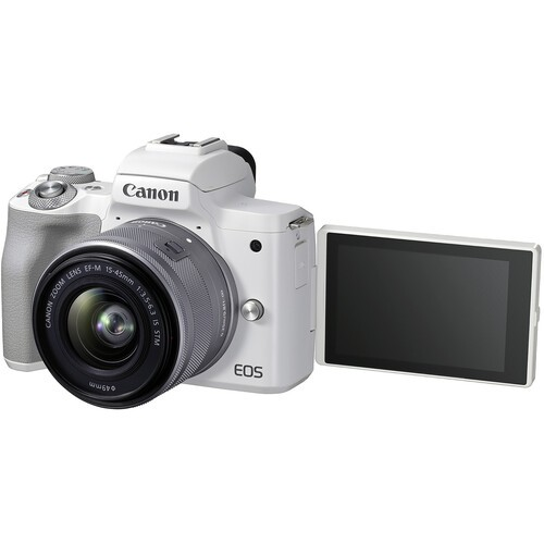 Canon EOS M50 Mark II Kit 15-45mm IS STM White- фото5