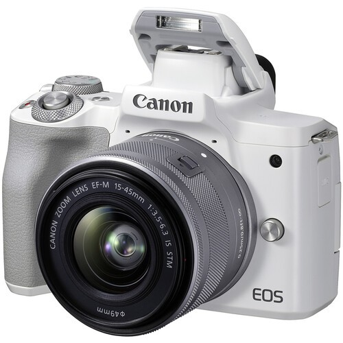 Canon EOS M50 Mark II Kit 15-45mm IS STM White- фото6