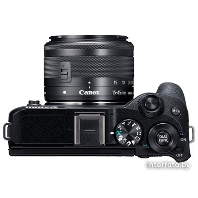 Canon EOS M6 Mark II Kit 15-45mm + EVF-DC2 Black- фото5
