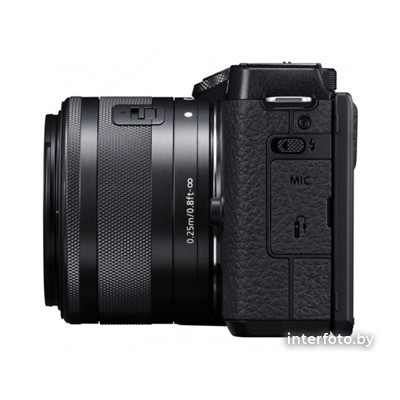 Canon EOS M6 Mark II Kit 15-45mm + EVF-DC2 Black- фото7