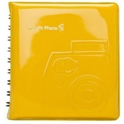 Фотоальбом Instax Mini Album Yellow, 64 фото