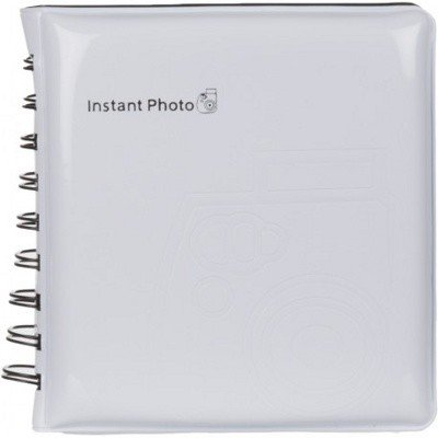 Фотоальбом Instax Mini Album White, 64 фото