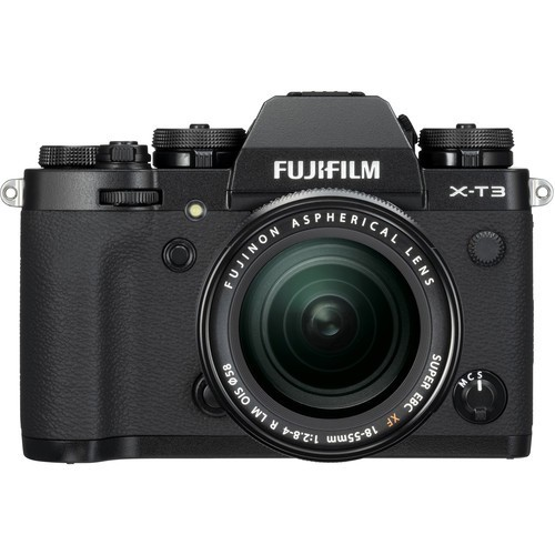 Fujifilm X-T3 Kit 18-55mm Black- фото