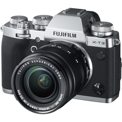 Fujifilm X-T3 Kit 18-55mm Silver- фото2
