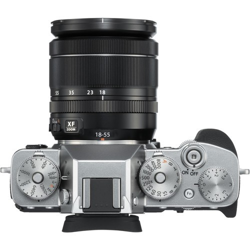 Fujifilm X-T3 Kit 18-55mm Silver- фото4