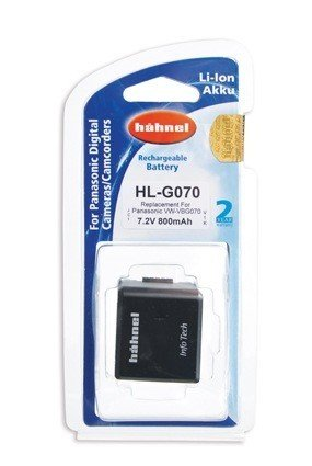 Аккумулятор Hahnel HL-G070 for Panasonic VW-VBG070/130/260 800mAh