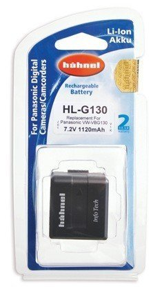 Аккумулятор Hahnel HL-G130 for Panasonic VW-VBG130/260 1120mAh