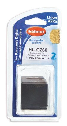 Аккумулятор Hahnel HL-G260 for Panasonic VW-VBG260 2240mAh