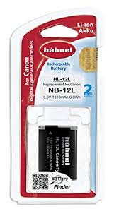 Аккумулятор Hahnel HL-12L for Canon NB-12L 1910mAh