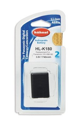 Аккумулятор Hahnel HL-K180 for Panasonic VW-VBK180 1740mAh