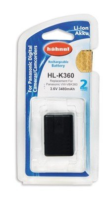 Аккумулятор Hahnel HL-K360 for Panasonic VW-VBK360 3480mAh