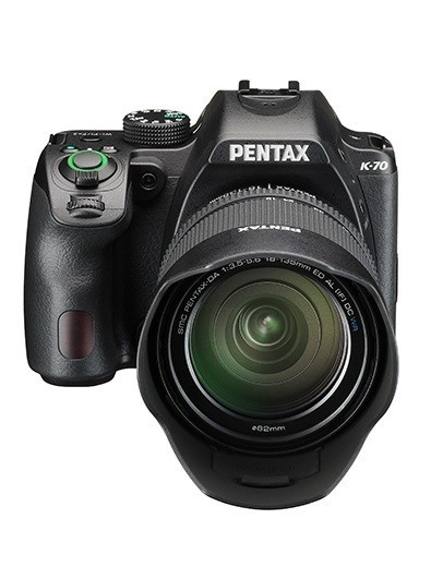Pentax K-70 Kit 18-135mm Black