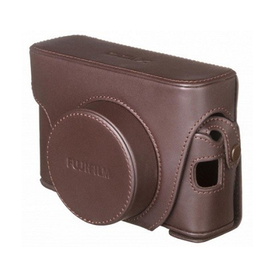 Чехол кожаный FUJIFILM LEATHER CASE LC-X100F brown