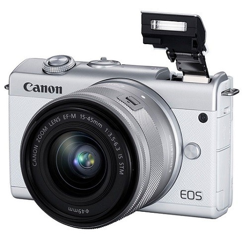 Canon EOS M200 Kit 15-45mm IS STM White- фото3