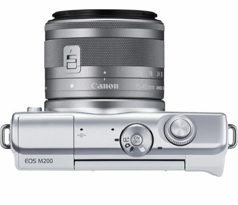 Canon EOS M200 Kit 15-45mm IS STM White- фото4