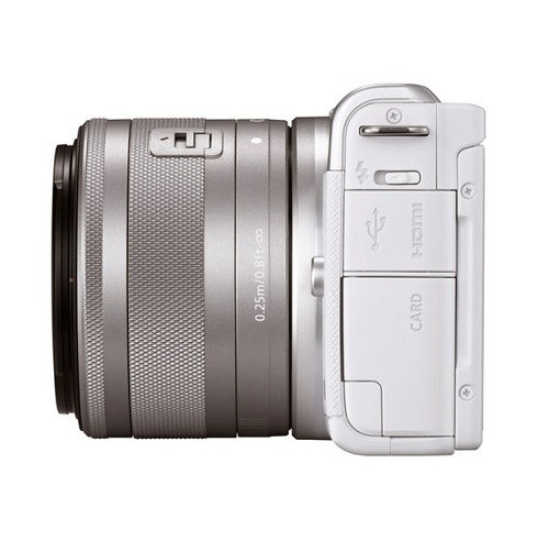Canon EOS M200 Kit 15-45mm IS STM White- фото5