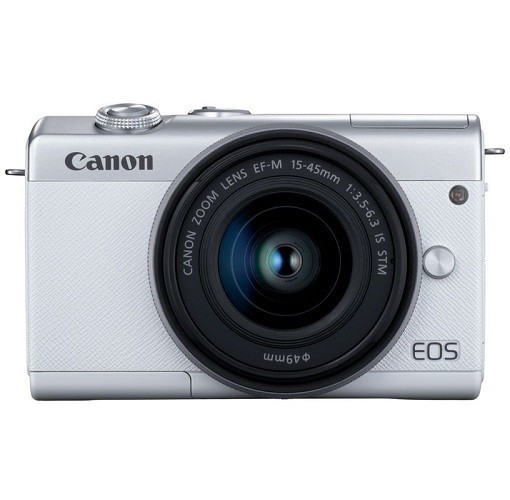 Canon EOS M200 Kit 15-45mm IS STM White