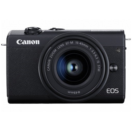 Canon EOS M200 Kit 15-45mm IS STM Black- фото