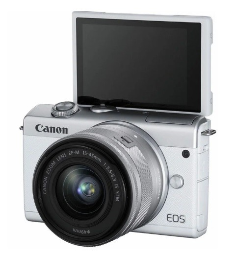 Canon EOS M200 Kit 15-45mm IS STM White- фото6
