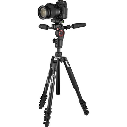Штатив Manfrotto Befree 3-Way Live Advanced (MKBFRLA4BK-3W)- фото4
